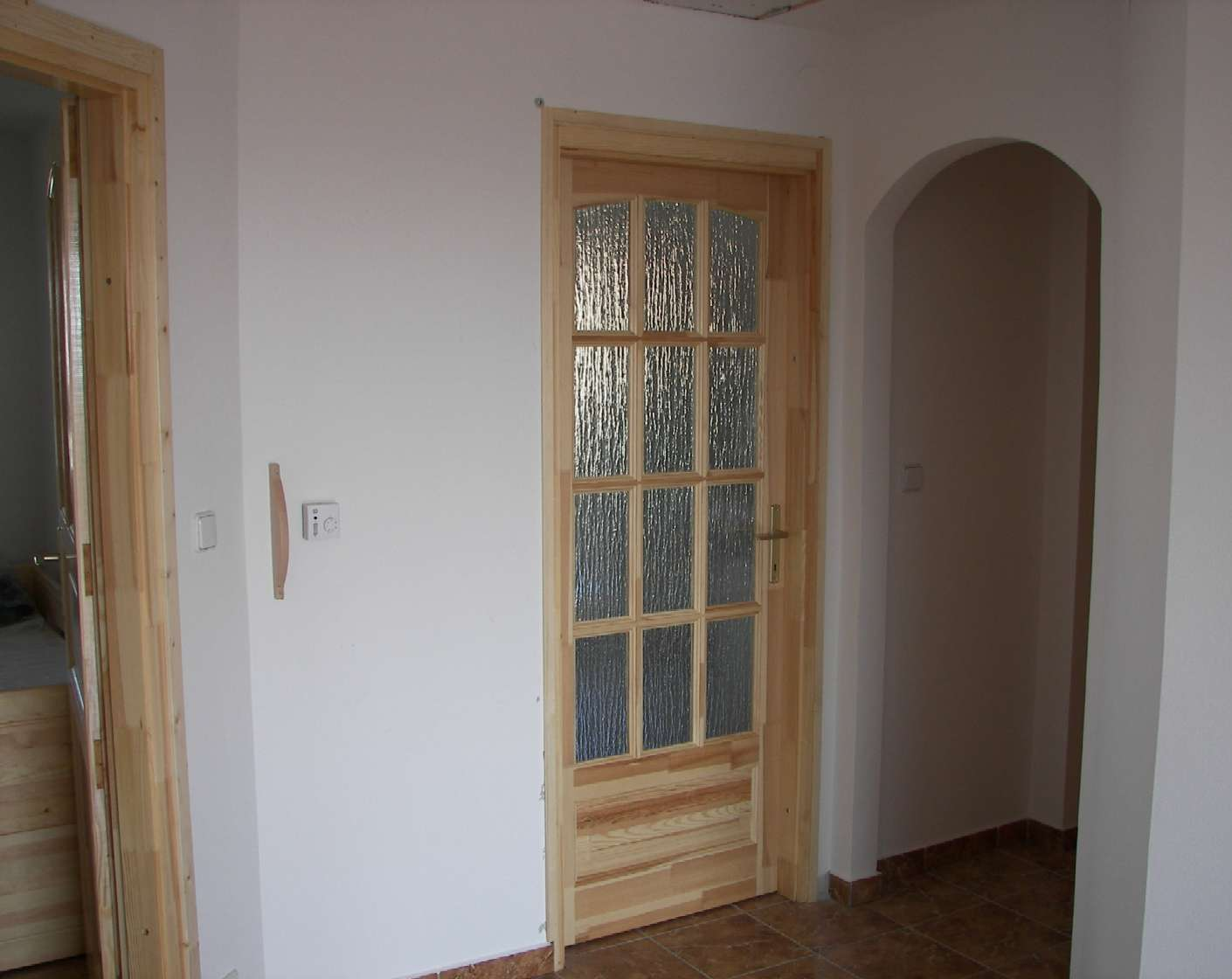 haus wohnzimmer oben:Diele, Zugang zu Küche, Bad und WC